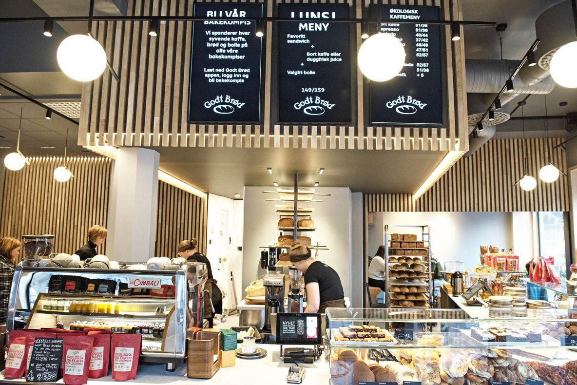 Det nye bakeriet åpnet i november 2019.