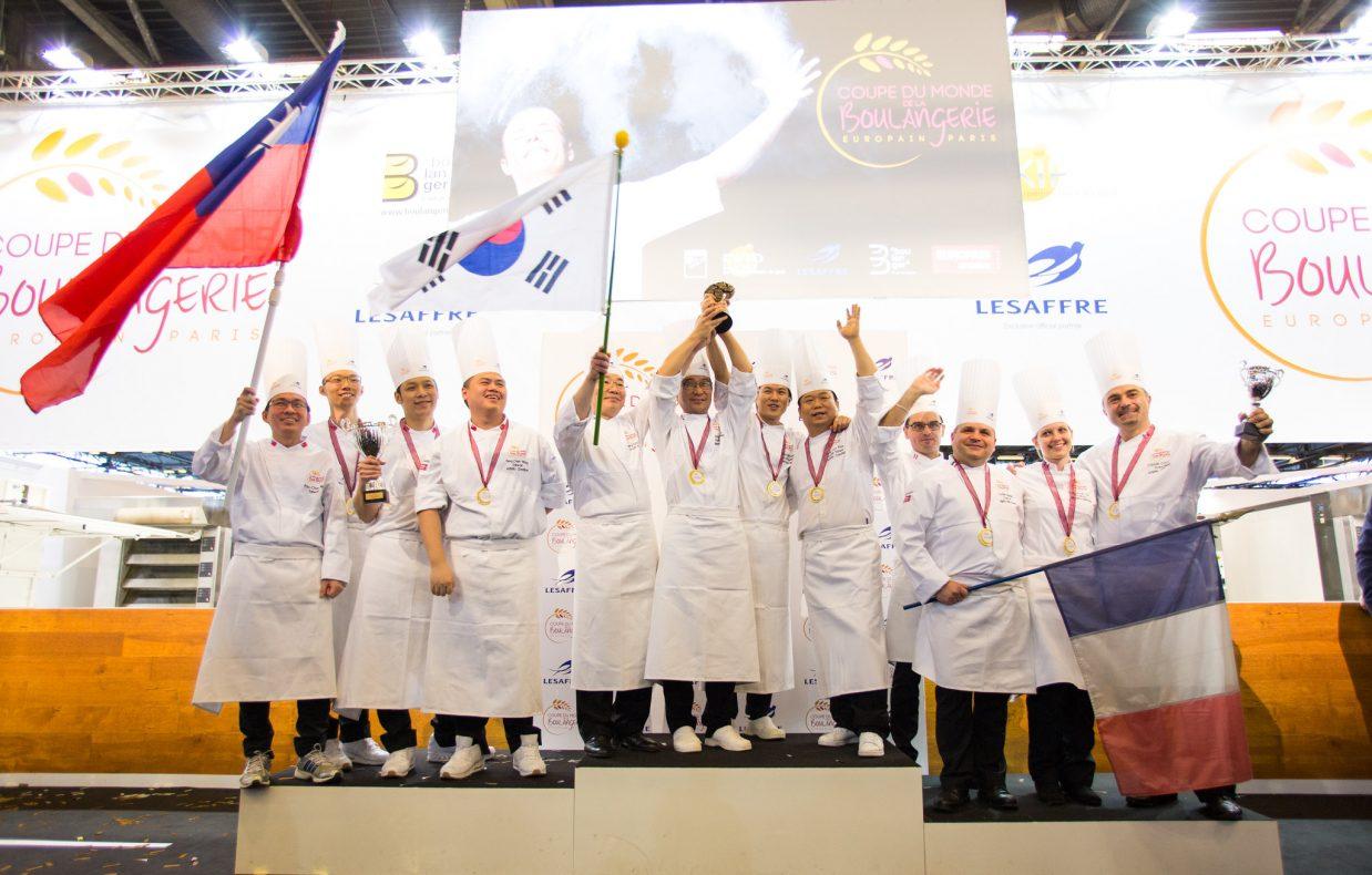 Coupe du Monde de la Boulangerie ble sist arrangert på Europain i 2016, og da var det Sør-Korea som vant.