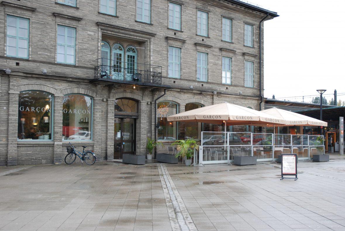 Garçon på Lillestrøm stasjon ble startet i 2007.