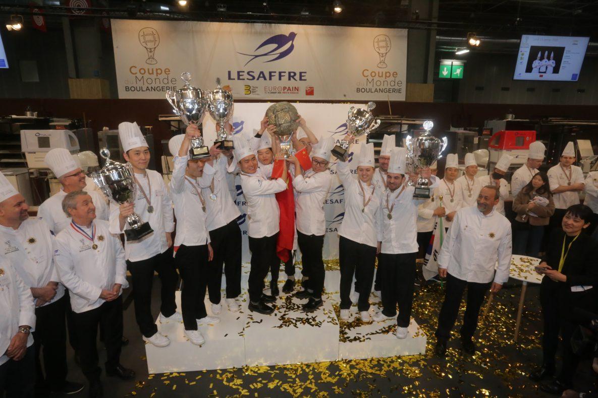 Gull til Kina, sølv til Japan og bronse til Danmark i Coupe du Monde de la Boulangerie.