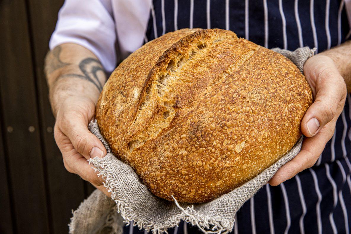 Alle brød fra Bakfickan er bakt på surdeig.