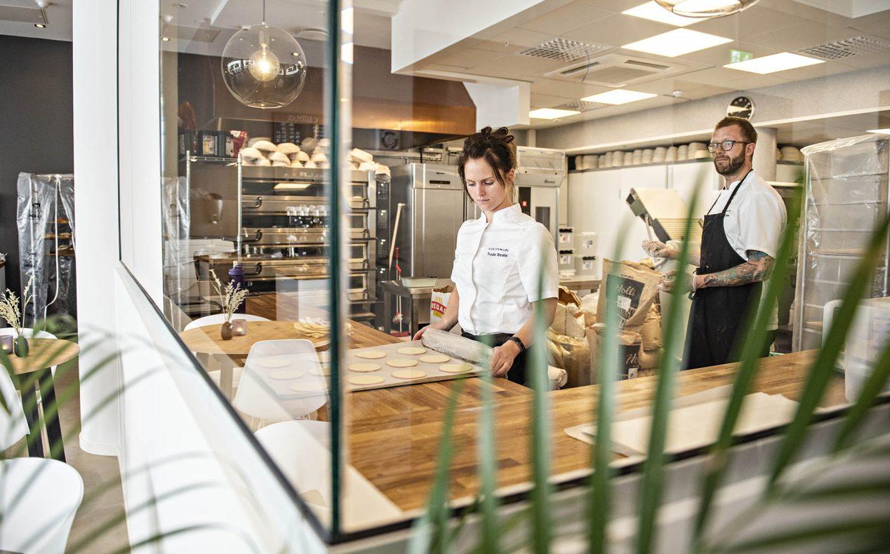 Eierne av Kveitemjøl, Trude Beate Brendehaug og Nils Olav Heggdalsvik, er begge opptatt av å skape en sterk bedriftskultur.