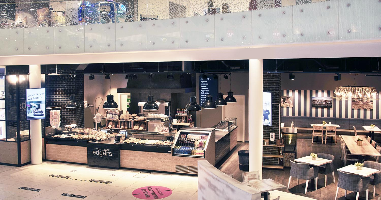 Utsalget på Sørlandssenteret er ett av mange Edgars Bakeri har etablert det siste året.