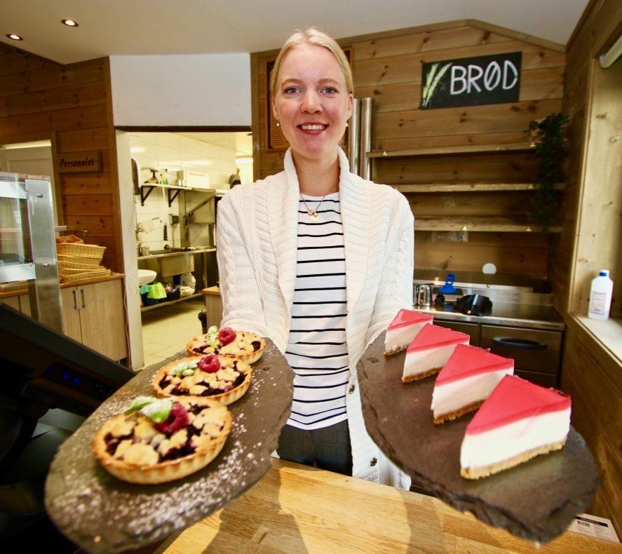 Madelene Wallengren skal selv lage kaker og andre konditorvarer til Stølen Bakeri.