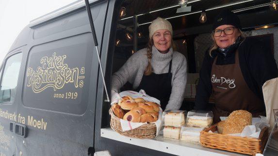 Stiller med food truck i vinterferien