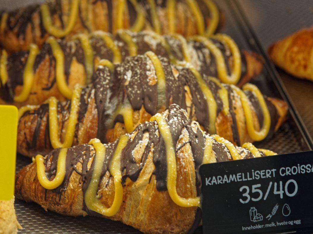Karamellisert croissant – enda en idé fra familien Helgesen.