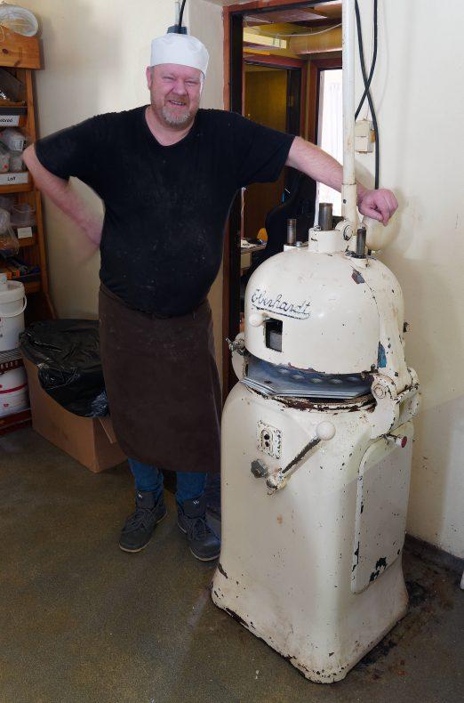 «Eberhardt» er god og gammel og virker som den skal, fastslår Jan Roger Pettersen.