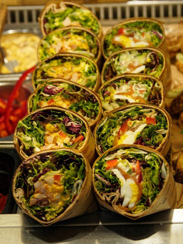 Påsmurt er en viktig del av tilbudet til lunsjkundene.