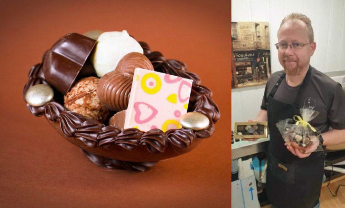 Svein Arne Sandbo valgte konfekt i stedet for bakeri da han bestemte seg for å begynne for seg selv.