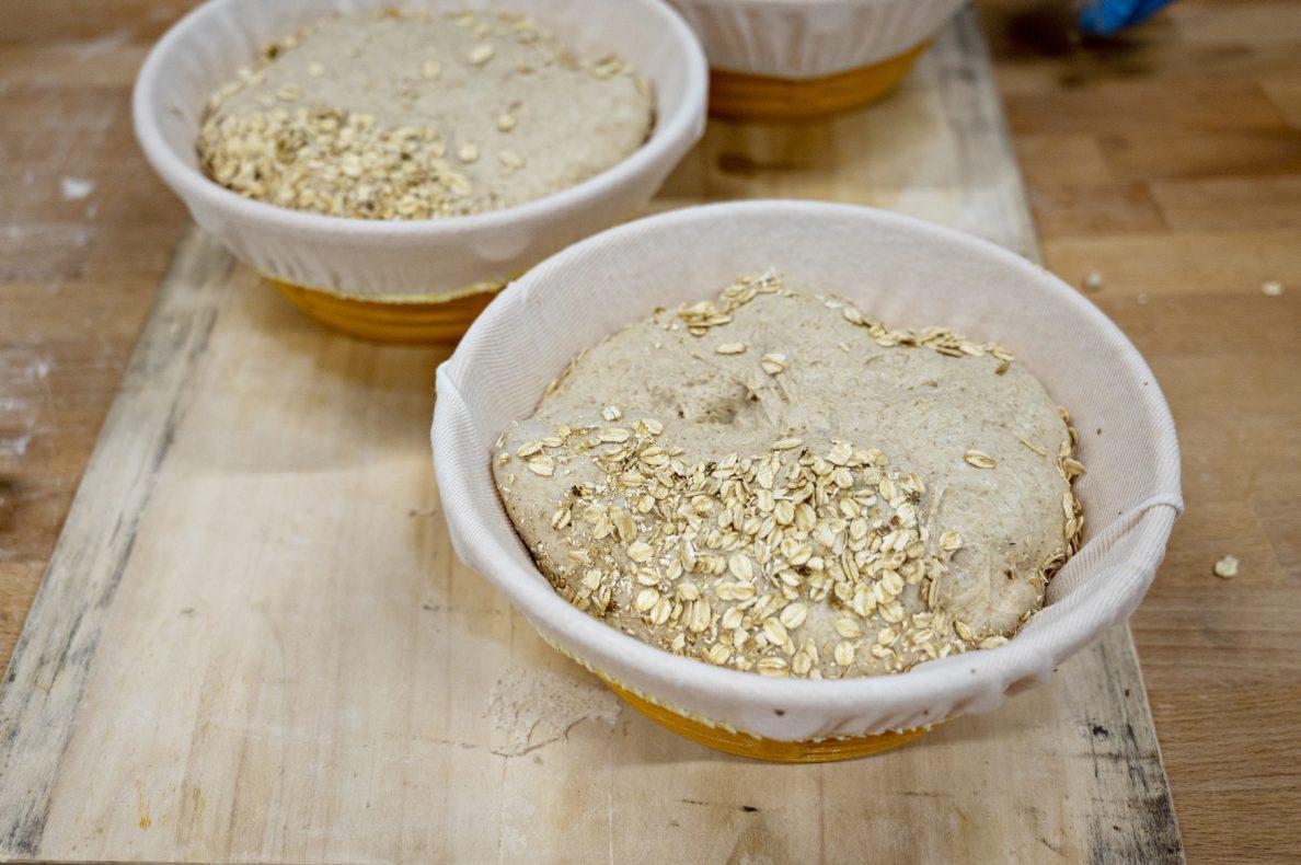 Høy hydrasjon er nøkkelen til bra brød på havre. Denne versjonen har cirka 95 prosent hydrasjon.