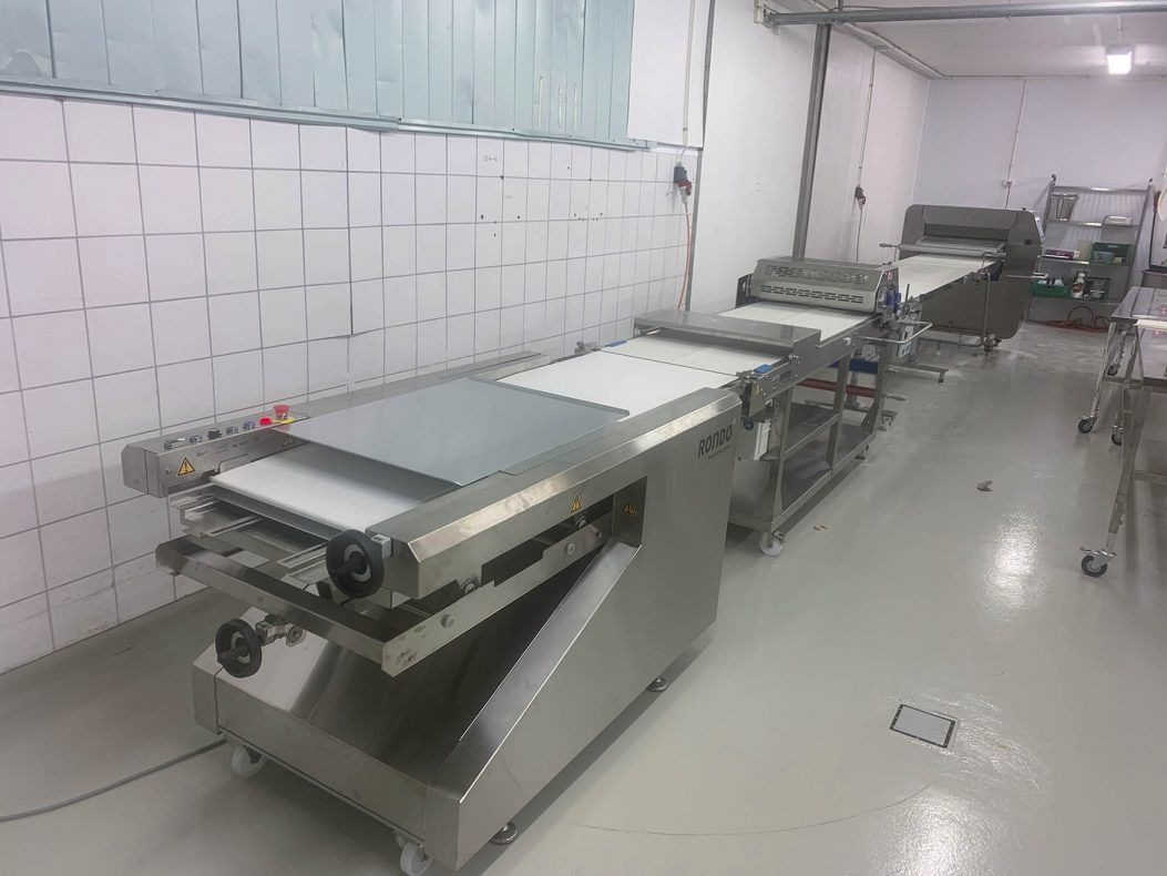 Unibak har levert utstyret til det nye bakeriet i Åsane.