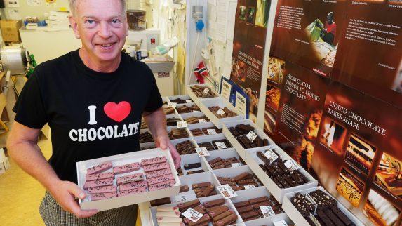 Søtt og solid med sjokolade