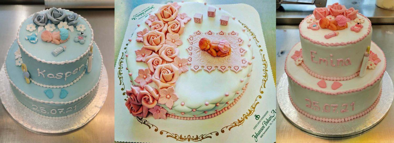 Kakene er skreddersydd for de spesielle anledningene.