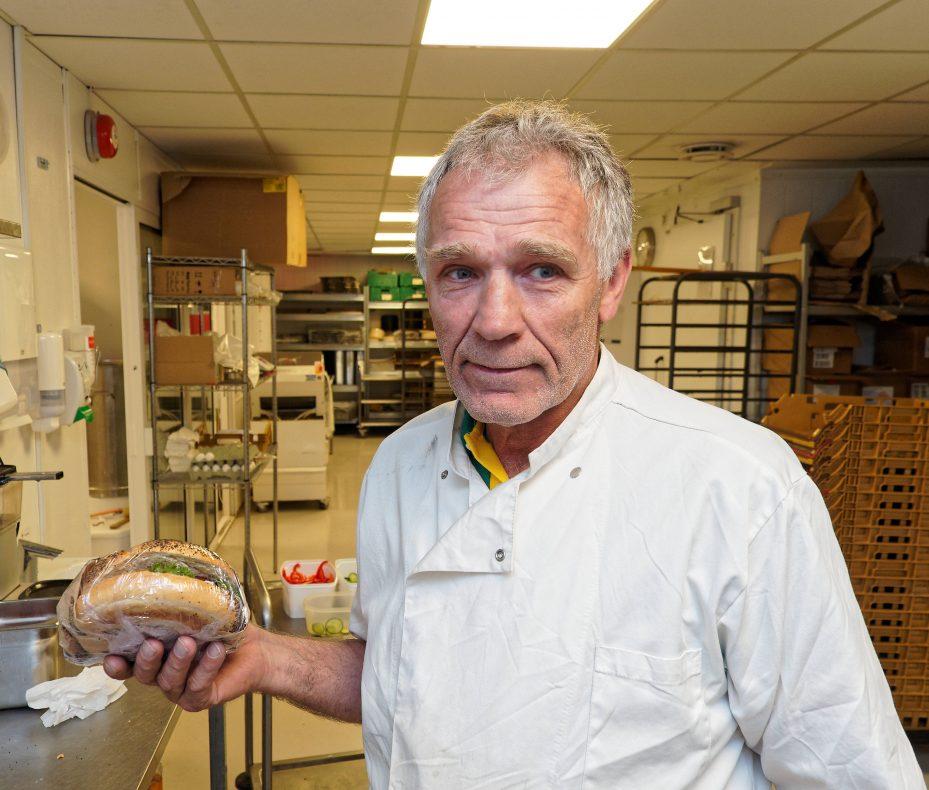 Påsmurte bagels er blant nyhetene fra Per Arvid Aartun og Stavanger Conditori.